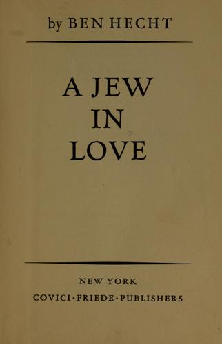 A Jew in love