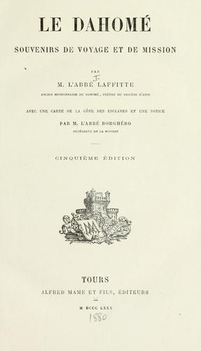 Download Le Dahomé