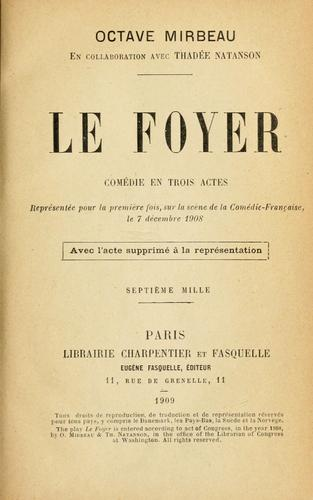 Download Le foyer