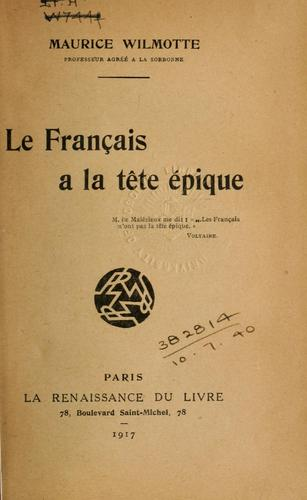 Le français a la tête épique.
