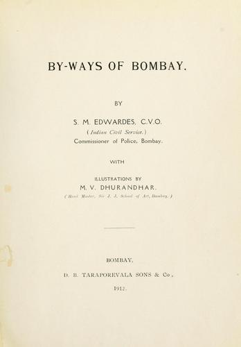 Download By-ways of Bombay.