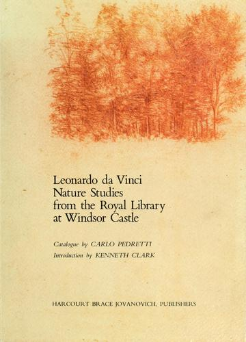 Download Leonardo da Vinci nature studies from the Royal Library at Windsor Castle