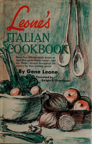 Leone's Italian cookbook.