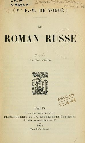 Download Le roman russe.