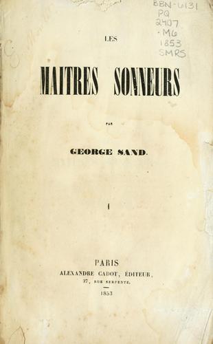 Download Les maîtres sonneurs.