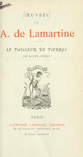 Le tailleur de pierres de Saint-Point.