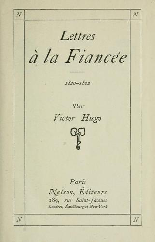Download Lettres à la fiancée, 1820-1822