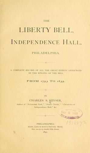 Download The Liberty bell, Independence hall, Philadelphia