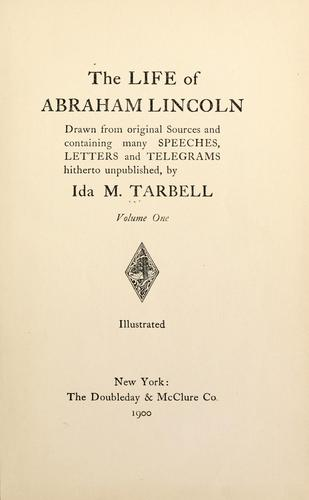 Download The life of Abraham Lincoln.