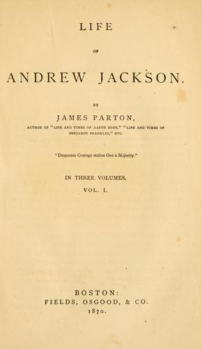 Download Life of Andrew Jackson