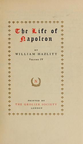Download The life of Napoleon.