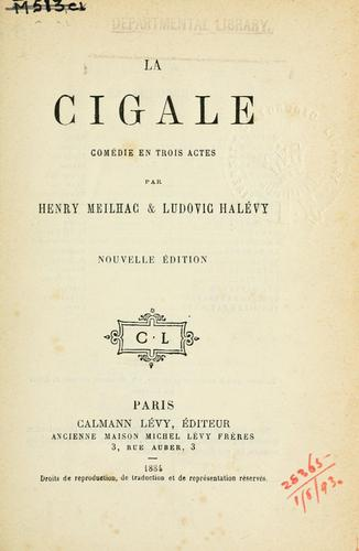 La cigale by Meilhac, Henri