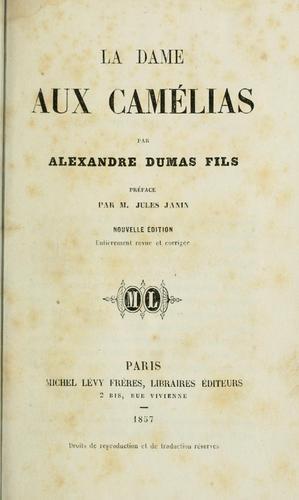 Download La Dame aux camélias