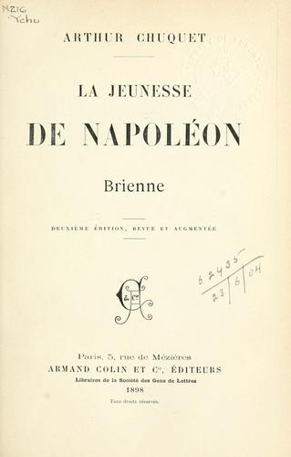 Download La jeunesse de Napoléon.