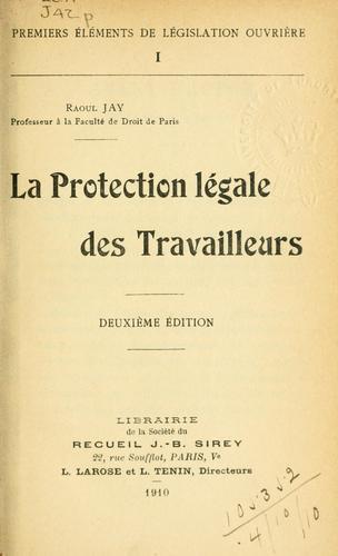 Download La protection légale des travailleurs.
