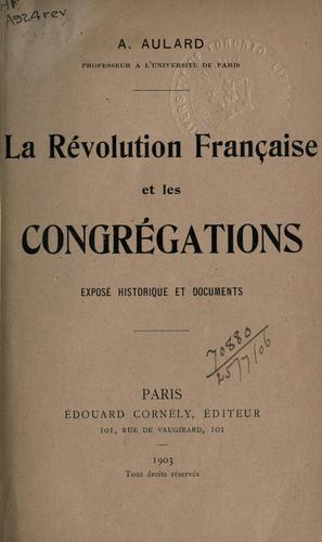 Download La Révolution française et les congrégations