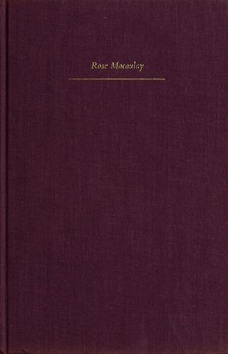 Last letters to a friend, 1952-1958 by Macaulay, Rose, Dame.