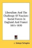 Liberalism And The Challenge Of Fascism
