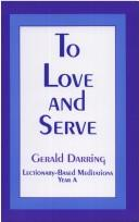Download To Love and Serve