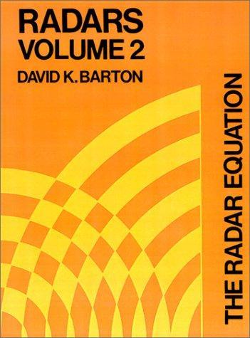 Image for Radars Volume 2: The Radar Equation