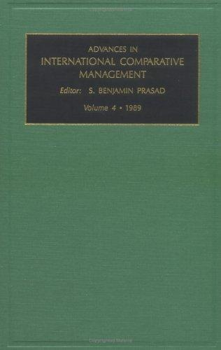 Download Advances in International Comparative Management