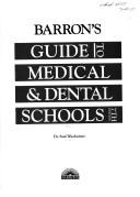 Download Barron's guide to medical & dental schools
