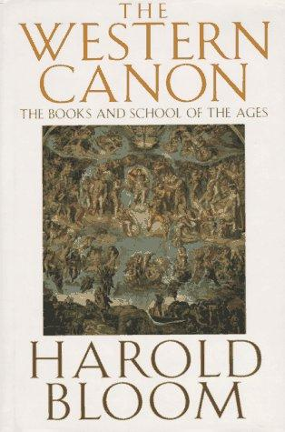 The Western Canon: The Books and School of the Ages, BLOOM, HAROLD.