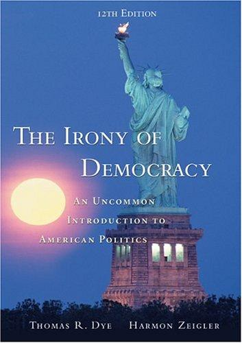 Download The irony of democracy