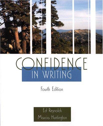 Download Confidence in writing