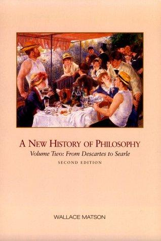 A new history of philosophy