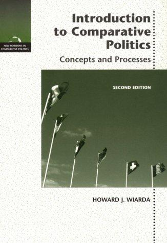 Download Introduction to comparative politics