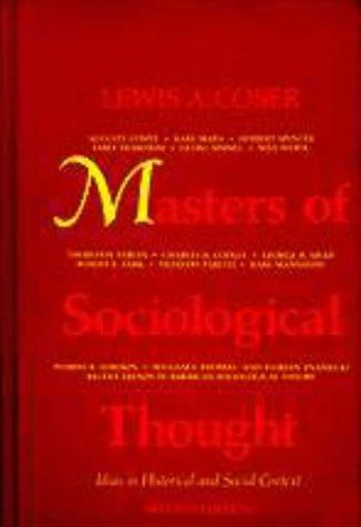 Masters of sociological thought