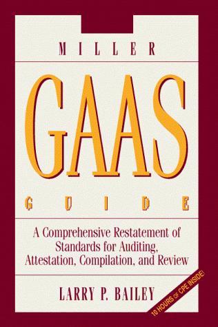 2000 Miller GAAS Guide