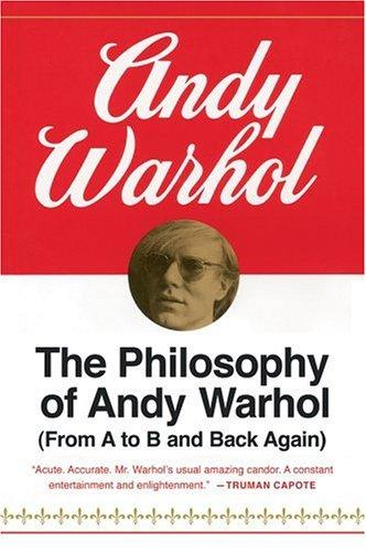 Download The philosophy of Andy Warhol