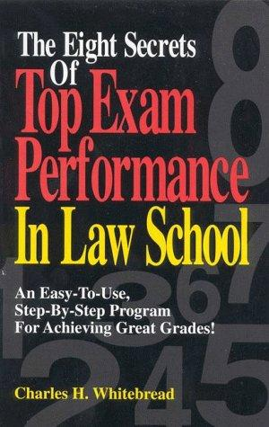 Download The eight secrets of top exam performance in law school