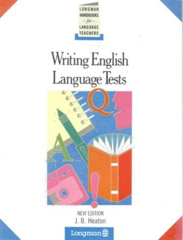 Download Writing English language tests