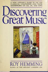 Cover of: Discovering great music | Roy Hemming
