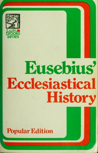Cover of: Ecclesiastical history. by William Eusebius Andrews