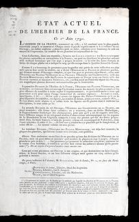 Cover of: E tat actuel de l'Herbier de la France | Bulliard, Pierre