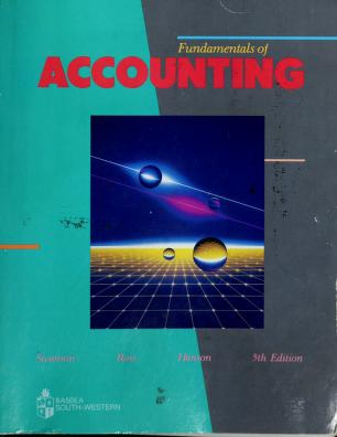 Cover of: Fundamentals of Accounting | Robert M. Swanson