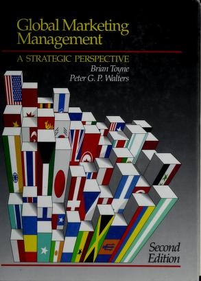 Cover of: Global marketing management | Brian Toyne