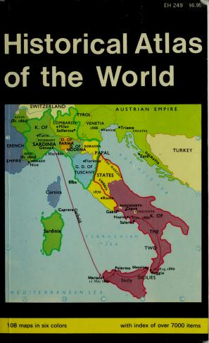 Cover of: History Atlas of the World | Oddvar Bjorklund