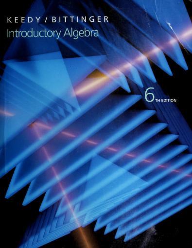Introductory algebra by Mervin Laverne Keedy