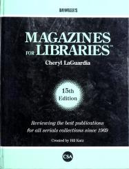 Cover of: Magazines for libraries by William A. Katz