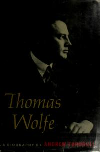 Thomas Wolfe by Andrew Turnbull