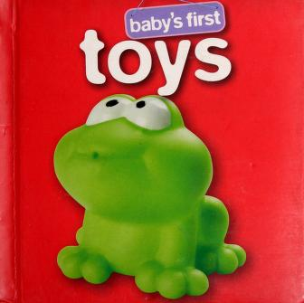 Cover of: Baby's first toys  