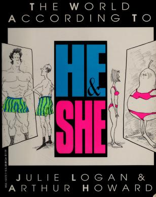 Cover of: The world according to he & she | Julie Logan