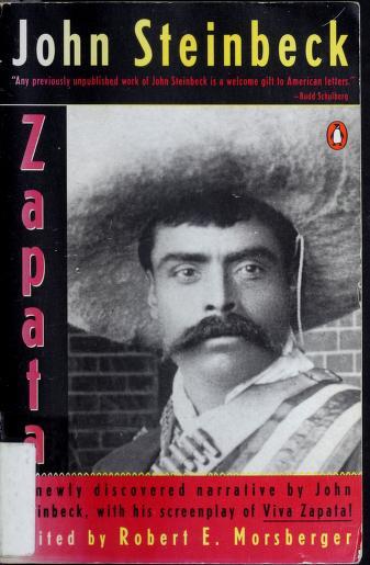 Cover of: Zapata | John Steinbeck