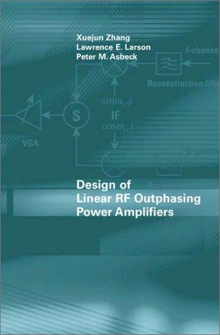 Design of linear RF outphasing power amplifiers by