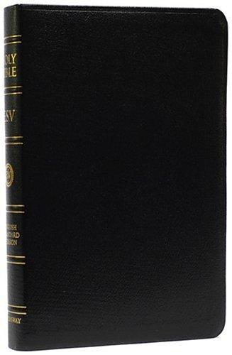 The Holy Bible--ESV (Black Leather)